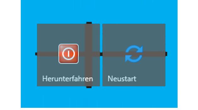 Herunterfahr-/ Neustartbutton erstellen für Windows 10