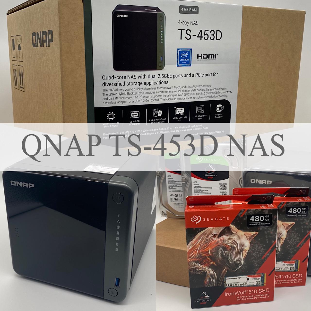 QNAP TS-453D NAS Vorstellung und auspacken