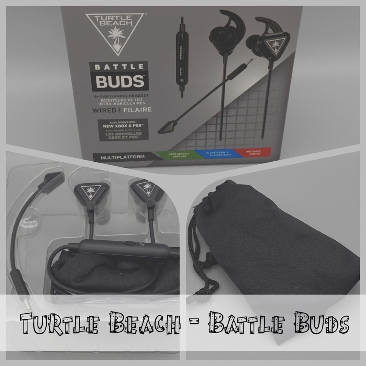 Turtle Beach – Battle Buds / In-Ear Kopfhörer für Playstation, Xbox und die Nintendo Switch
