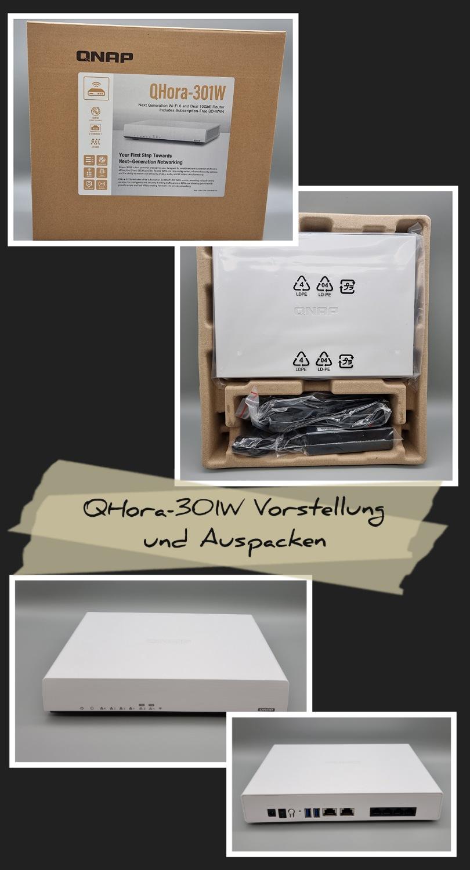 QHora-301W Wi-Fi SD-Wan Router von QNAP – Auspacken und Vorstellung