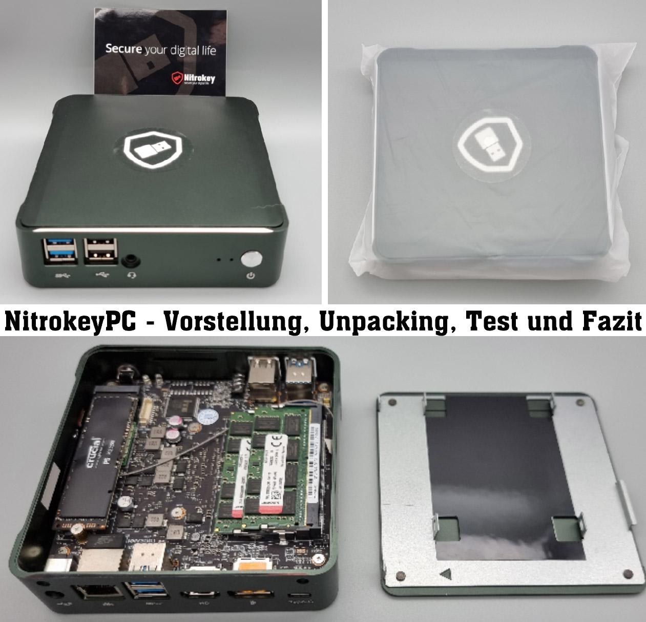NitroPC von Nitrokey – Vorstellung, Unpacking, Test und mein Fazit