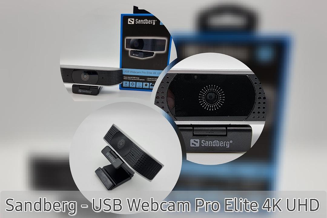 Sandberg – USB Webcam Pro Elite 4K UHD