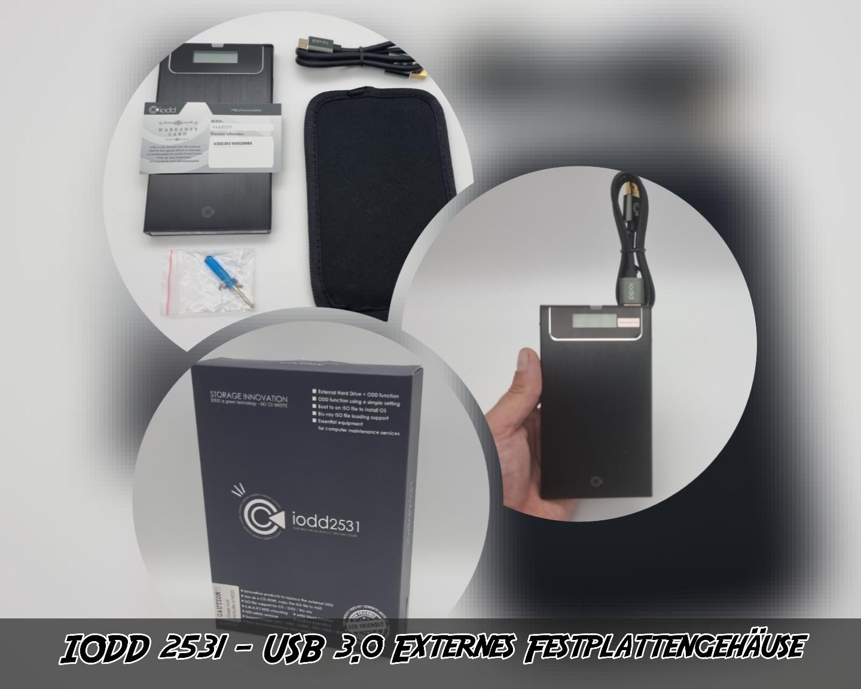 IODD 2531  – USB 3.0 Externes Festplattengehäuse