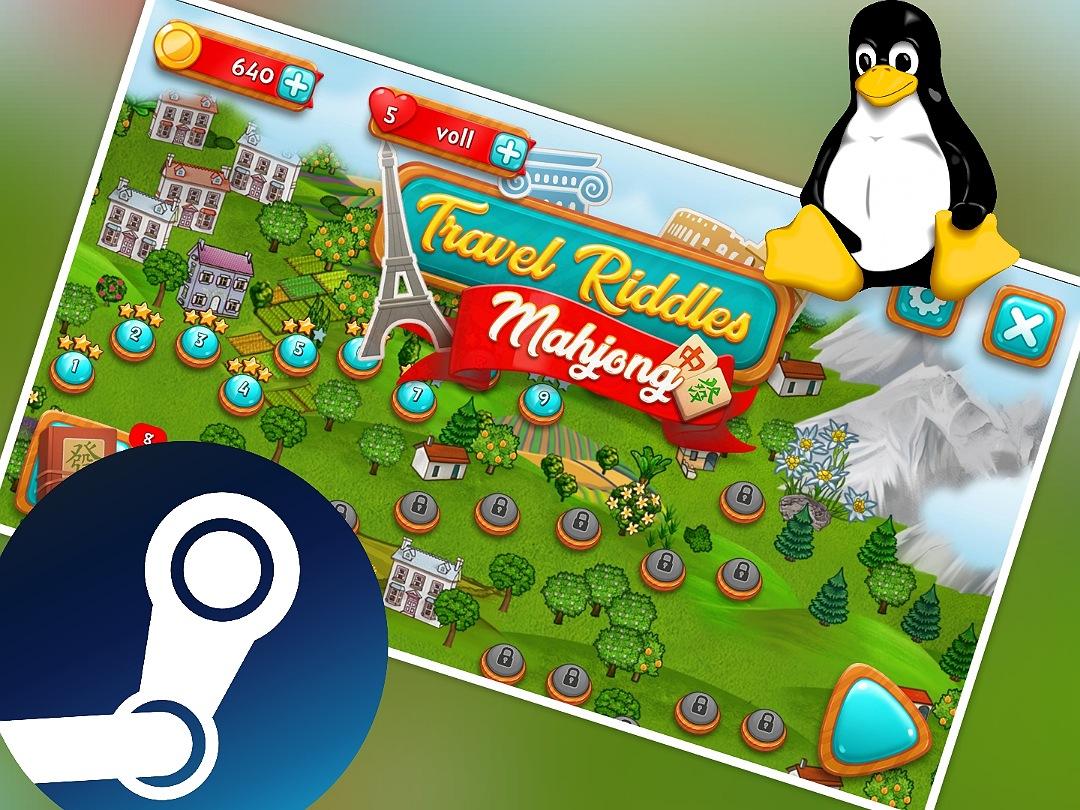 Windows-Spiele auf dem Linux-PC spielen mit Steam und Proton